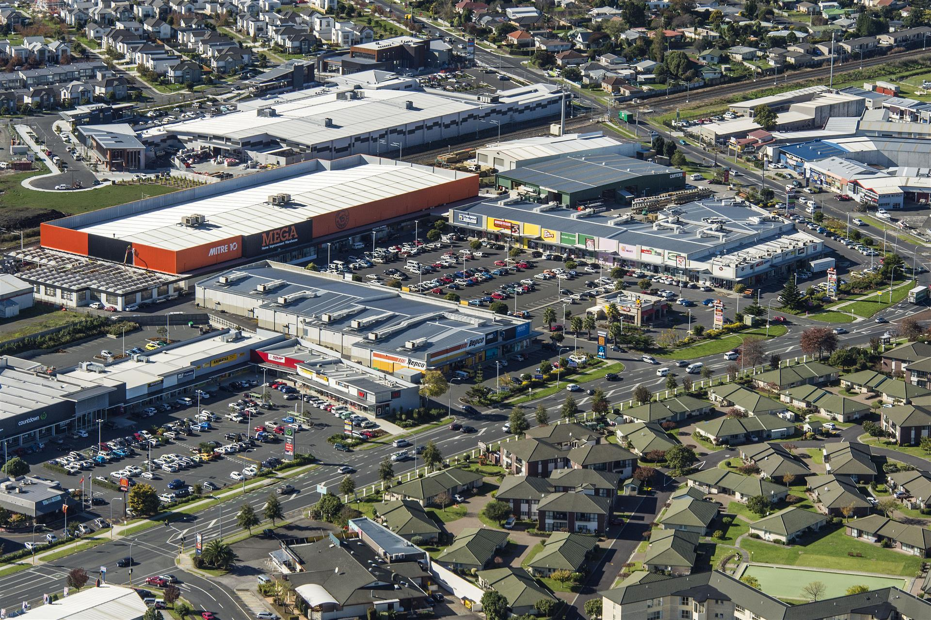 Photo of Southgate Retail Centre, Takanini, Auckland