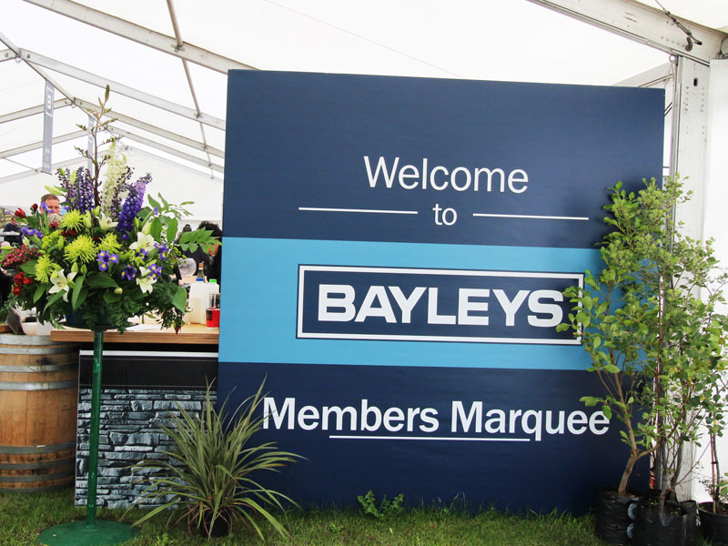 Bayleys Members Marquee