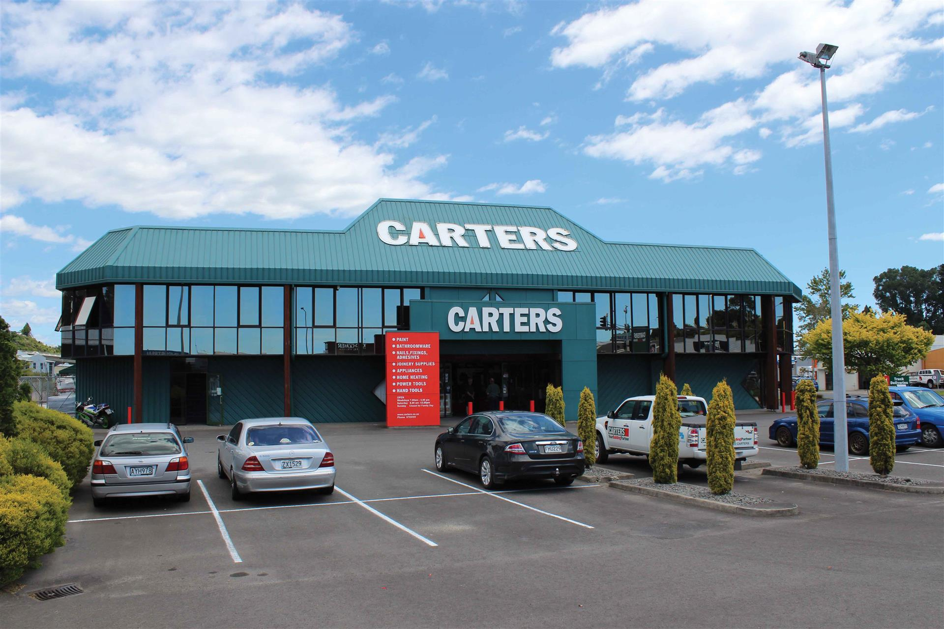 Photo of Carters, 14 Birch Avenue, Tauranga